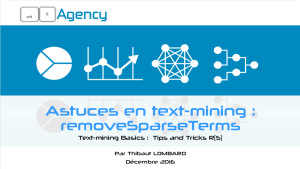 removeSparseTerms data visualisation